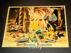 Pinocchio / 1940 Walt Disney / Original Color Mini Lobby Card (8x10) A