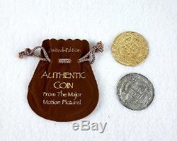 Pirates of Caribbean Original Movie Film Prop Coins Rare HTF Disney POTC