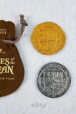 Pirates of the Caribbean Original Movie Film Prop Coins Rare Disney POTC HTF