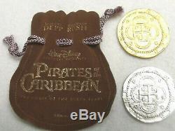 Pirates of the Caribbean Original Movie Film Prop Coins Walt Disney 2003