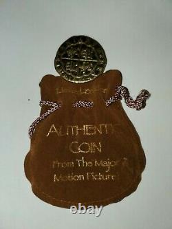 Pirates of the Caribbean Original Movie Film Prop Gold Coin Rare Disney HTF POTC