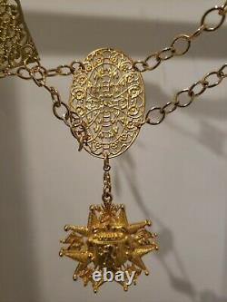 Princess Diaries 2 Prop Necklace Disney COA Rare Prop Huge Piece Anne Hathaway