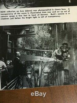 RARE 1954 American Cinematographer Hitchcock's Rear Window Walt Disney nature