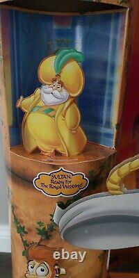 RARE Aladdin Movie Standee Display Large 6' Walt Disney Robin Williams 1996