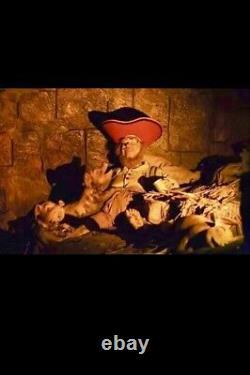 RARE Disney Disneyland Pirates Of The Caribbean Copper Mug Prop with COA