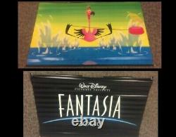 RARE Original Disney Fantasia 2000 Flamingo Promo Banner 72 x 46