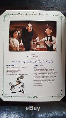 RATATOUILLE Rare Promo Cookbook Disney Thomas Keller Pixar