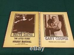 RKO Radio Pictures original Yearbook 1941-1942 Disney poster Fantasia