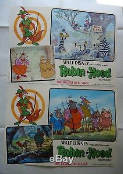 ROBIN HOOD/ WALT DISNEY/ /U5V/ 9 italy posters
