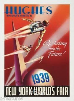 ROCKETEER Dave Stevens 20thAnn Hughes Enterprises ART GICLEE Print Poster DISNEY