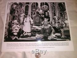 Return to Oz Press Kit 1985 Disney Wizard of Oz Fairuza Balk 7 Photos Land of Oz