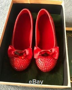 Return to oz ruby slippers movie prop replicas by John Henson Walt Disney Wizard