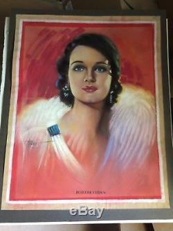 Rochelle Hudson Rare Stunning Original Art 30s Disney Animator Imitation of Life