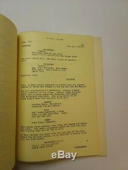 SCANDALOUS JOHN / Bill Walsh 1970 Screenplay, ranch owner Walt Disney Production