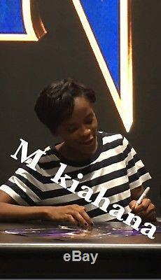 SDCC 2017 Black Panther Marvel DiSNEY Movie Poster Cast Signed Chadwick Boseman