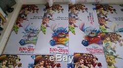 SET OF 11 2002 DISNEY LILO & STITCH 3D Lenticular movie theatre poster 27x40 ND