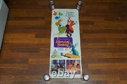 SLEEPING BEAUTY Original 1 Sheet DISNEY Movie Poster Vintage Cartoon Princess