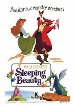 SLEEPING BEAUTY one sheet movie poster style B R70 WALT DISNEY