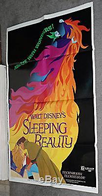 SLEEPING BEAUTY original DISNEY one sheet 27x41 movie poster