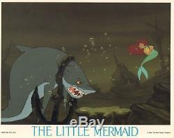 Set of 8 LITTLE MERMAID Lobby Cards WALT DISNEY Animation vintage