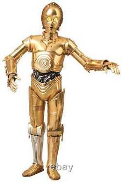 Sideshow Medicom RAH-580 C-3PO Figur talking Light Sound 29 cm OHNE VERPACKUNG