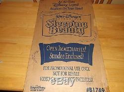 Sleeping Beauty-walt Disney-animated Movie-vintage Movie Standee-original Box