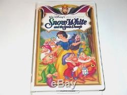 Snow White & 7 Dwarfs (DISNEY CLASSIC on VHS) NM