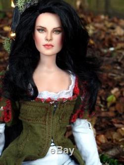 Snow White Kristen Stewart OOAK Costumed Repaint by Laurie Leigh Disney