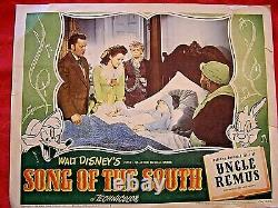 Song of the South-Disney-1946 Lobby Card-Brer Fox, Brer Rabbit-Canceled Culture