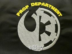 Star Wars IX Rise Of Skywalker New Disney Prop Film Crew Movie Promo XL Jacket