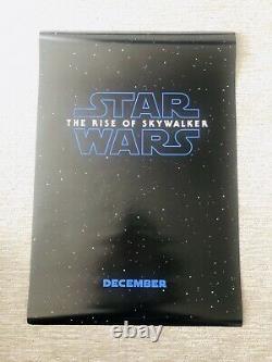 Star Wars Rise of Skywalker (3) Poster Set 27x40 D/S Original Disney DMR