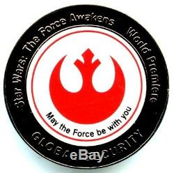 Star Wars The Force Awakens World Premiere Global Security Pin