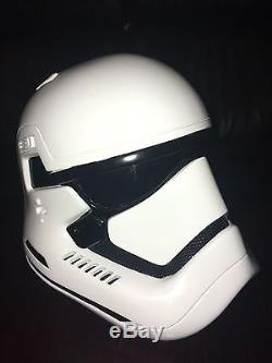 Star Wars USED HOLLYWOOD STUDIOS Disney Cast Member FOTK Helmet RARE