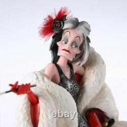 Statue Showcase Collection Cruella Disney 101 Dalmatiens with box