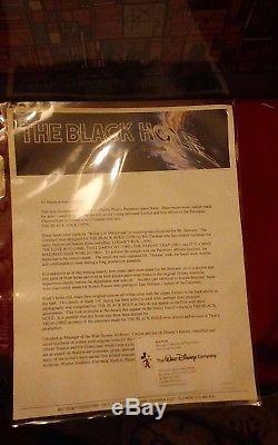 THE BLACK HOLE ORIGINAL MOVIE USED PIZER BOOTS WITH 2 LOA's DISNEY TRON humanoid