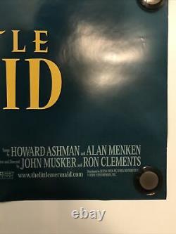 THE LITTLE MERMAID Original 27x40 DS/Rolled Movie Poster WALT DISNEY