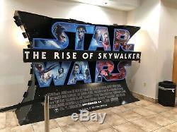 THE RISE OF SKYWALKER Disney Studios Star Wars Theatrical Standee Display