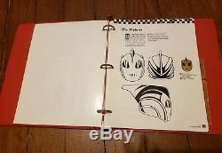 THE ROCKETEER 1992 Disney Merchandising STYLE GUIDE Binder DAVE STEVENS Rare