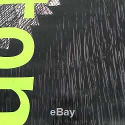 TIM BURTON 8FT Tall Vinyl Street Banner Poster Disney LACMA Xmas