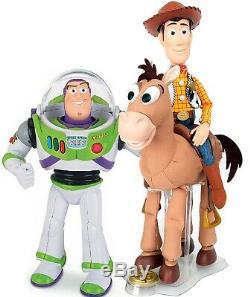 TOY STORY 4 Buzz Lightyear Woody DEUTSCH sprechend Bully wiehert spielt Musik