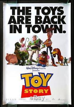 TOY STORY CineMasterpieces 1SH ORIGINAL DS MOVIE POSTER WALT DISNEY PIXAR'95