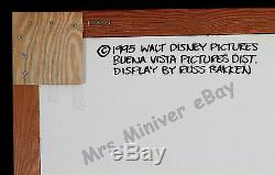 TOY STORY & GOOFY MOVIE ORIGINAL ART! Disney World PARK 3-D POSTER DISPLAYS