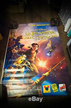 TREASURE PLANET A Walt Disney 4x6 ft Bus Shelter Original Movie Poster 2002