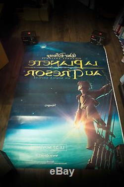 TREASURE PLANET B Walt Disney 4x6 ft Bus Shelter Original Movie Poster 2002
