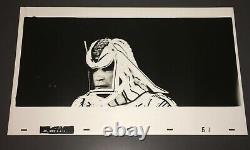 TRON (1982) RARE SARK 12x20 HIGH-CONTRAST KODALITH PHOTO ANIMATION ART 2 + COA