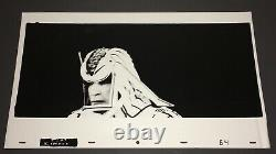 TRON (1982) Rare SARK 12x20 High-Contrast Kodalith Photo Animation Cel #64+COA