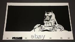 TRON (1982) Rare SARK 12x20 High-Contrast Kodalith Photo Animation Cel + COA