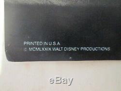 The Black Hole -RARE Style 1979 Movie Poster Walt Disney