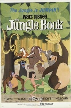 The Jungle Book 1967 27x41 Orig Movie Poster FFF-16899 Fine, Very Fine Disney