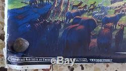 The Lion King Disney Original 1994 Israeli Hebrew Full Size Promo Poster